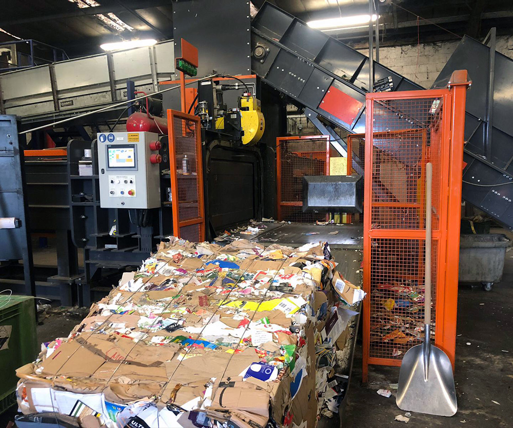 Improved Bale Weights & Increased Productivity at Council Waste Recycling Facility